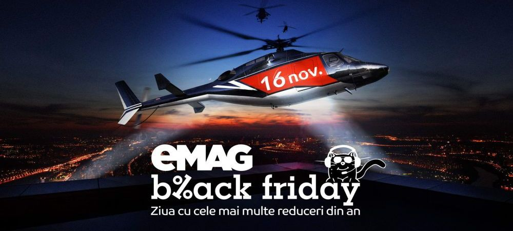 eMAG Black Friday: toate reducerile anuntate pana acum! Promotii uriase la televizoare, laptopuri, telefoane, console si anvelope