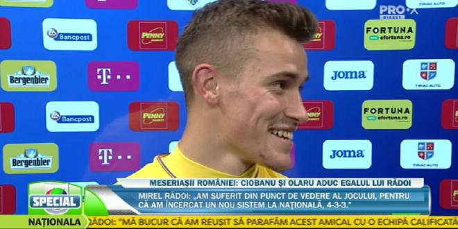 Romania U21 3-3 Belgia U21   Darius Olaru viseaza la Euro dupa ce a marcat un super gol cu Belgia:  O sa urmaresc din nou acest gol