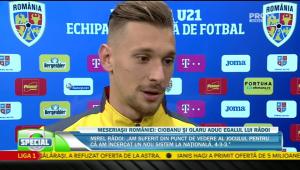 """ROMANIA U21 - BELGIA U21   Ionut Radu i-a rezolvat problema lui Radoi: """"Eu i-as lua pe toti 35 la Euro!"""" :)) Ce a spus despre duelul cu Cristiano Ronaldo in Serie A"""