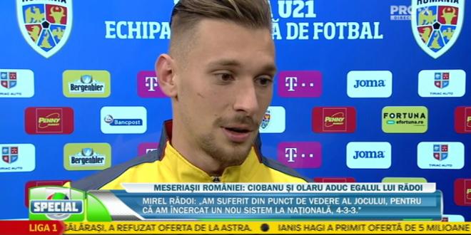 ROMANIA U21 - BELGIA U21   Ionut Radu i-a rezolvat problema lui Radoi:  Eu i-as lua pe toti 35 la Euro!  :)) Ce a spus despre duelul cu Cristiano Ronaldo in Serie A