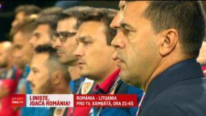 """ROMANIA - LITUANIA, SAMBATA 21.45 PRO TV   FRF pregateste galerie improvizata pentru partida de la Ploiesti: """"Suntem obligati sa castigam!"""""""