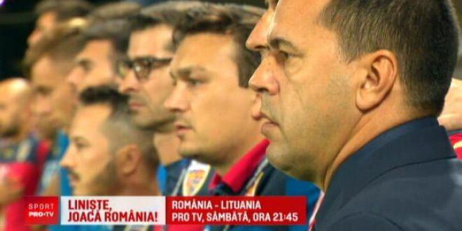 ROMANIA - LITUANIA, SAMBATA 21.45 PRO TV   FRF pregateste galerie improvizata pentru partida de la Ploiesti:  Suntem obligati sa castigam!