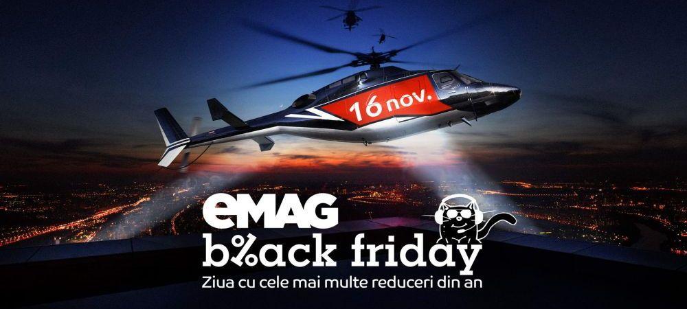 eMAG BLACK FRIDAY: Pragul de 100.000.000 EURO a fost depasit! Produse noi in oferta! Lista AICI