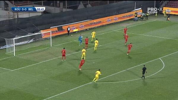 ROMANIA U21 0-0 BELGIA U21 LIVE  Surpriza mari ale lui Radoi: 3 stelisti sunt titulari, Dragomir si Dragus intra din primul minut! ECHIPELE DE START