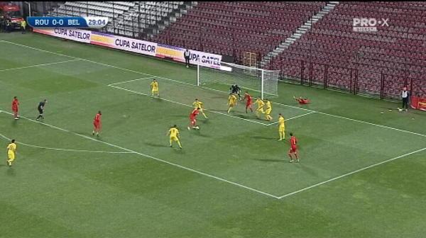 ROMANIA U21 0-1 BELGIA U21 LIVE  GOL BELGIA! Sut imparabil al lui Cools, iar Belgia conduce la Cluj