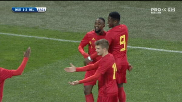 ROMANIA U21 1-3 BELGIA U21 LIVE  Belgia inscrie de doua ori intr-un minut si se desprinde pe tabela