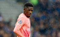 Jucatorul REBEL al Barcelonei, asaltat cu oferte! Doua cluburi din Premier League se bat pentru Dembele: Reactia TRANSANTA a catalanilor