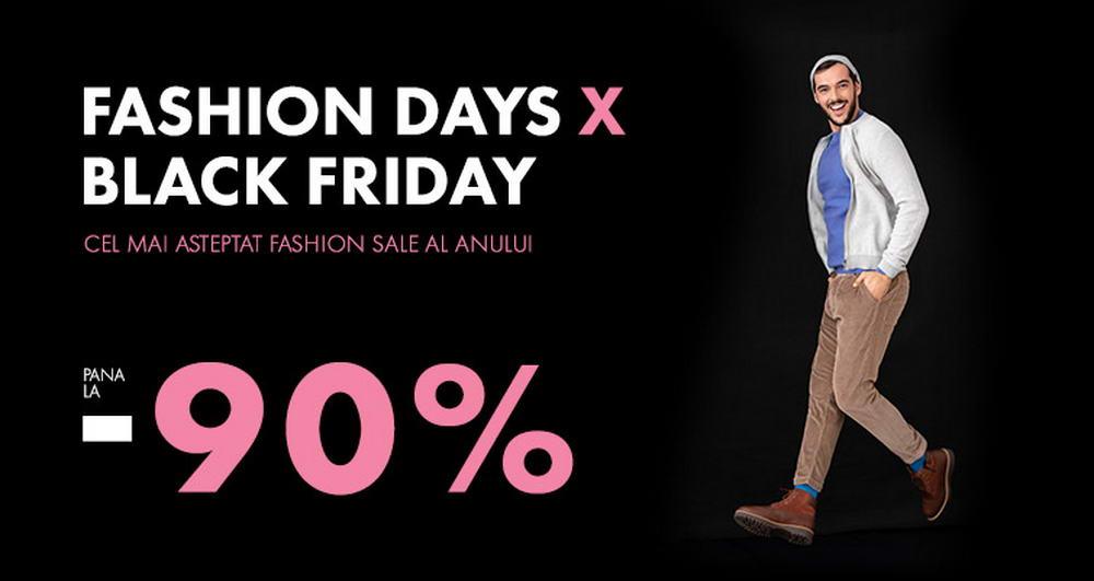 Fashion Days Black Friday | Pana la 90% reducere la imbracamintea pentru barbati. Ce poti cumpara