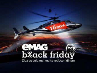 BLACK FRIDAY eMAG | Primul MILION s-a facut in 12 secunde! Care au fost produsele care s-au vandut cel mai rapid anul acesta