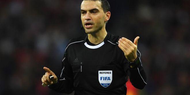 Inca un meci de top pentru Hategan! UEFA l-a trimis la unul dintre cele mai tari dueluri ale saptamanii in Nations League!