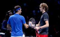 """""""Amice, taci din gura!"""" Reactia lui Federer dupa ce Zverev l-a invins cu scandal: mesajul transmis de elvetian"""
