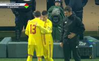 VIDEO | Moment istoric: Ianis debuteaza pentru nationala la 35 de ani de la debutul tatalui sau! Primele minute pentru Hagi jr in tricoul Romaniei