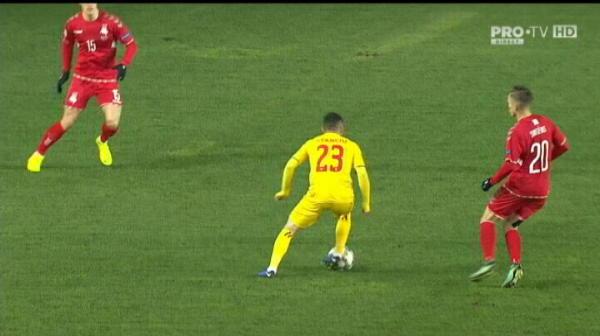 VIDEO | Moment istoric: Ianis debuteaza pentru nationala la 35 de ani de la debutul tatalui sau!