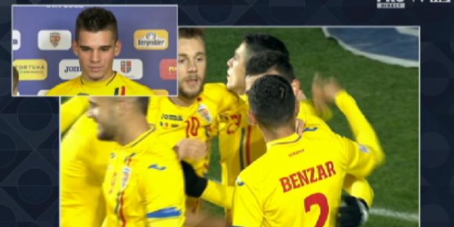 ROMANIA - LITUANIA | Prima reactie a lui Ianis dupa debutul la nationala:  Nu ma multumesc cu debutul, vreau sa obtin performante!  Ce va face cu tricoul