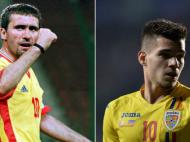 """""""Eu o sa fiu implinit cand o sa-l vad capitan, sa fie cel mai bun din echipa!"""" Reactia lui Hagi dupa debutul lui Ianis si victoria Romaniei"""