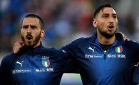 """""""Mama prostilor e mereu gravida"""". Bonucci a explodat dupa meciul Italiei de aseara si a tunat IN DIRECT la TV! Ce l-a enervat"""