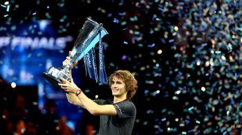 Surpriza la Londra! Zverev mai face o victima importanta: l-a invins pe Djokovic si a castigat in premiera Turneul Campionilor