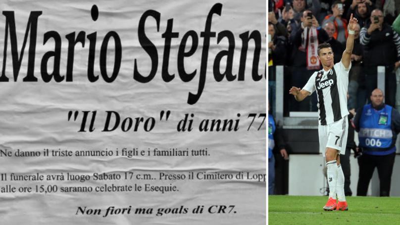 Cu Juventus pana la moarte! Ce bilet a lasat un suporter inainte sa moara: