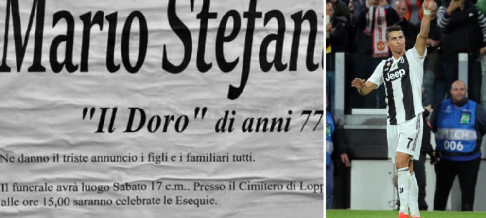 """Cu Juventus pana la moarte! Ce bilet a lasat un suporter inainte sa moara: """"In loc de flori"""" FOTO"""