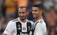 """Cum l-a socat Cristiano Ronaldo pe Chiellini dupa transferul la Juve. Capitanul torinezilor: """"Va zic sincer, cred ca abia atunci se va opri"""""""