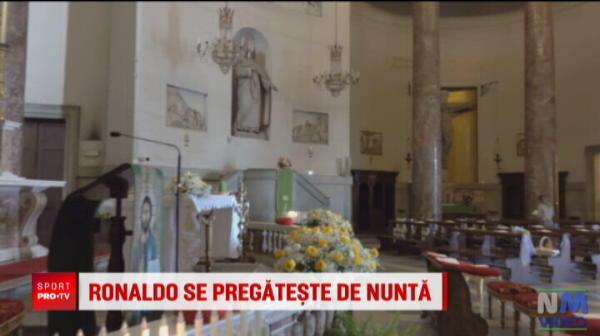 Bat clopotele de nunta! Ronaldo si Georgina au ales sa se casatoreasca intr-o biserica din Secolul al 19-lea. Unde va avea loc evenimentul
