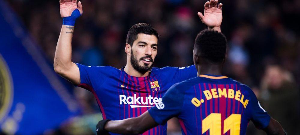 """Mesaj CLAR pentru """"rebelul"""" Barcelonei! Dembele, bagat in sedinta de Suarez: """"A fi fotbalist este un privilegiu"""""""