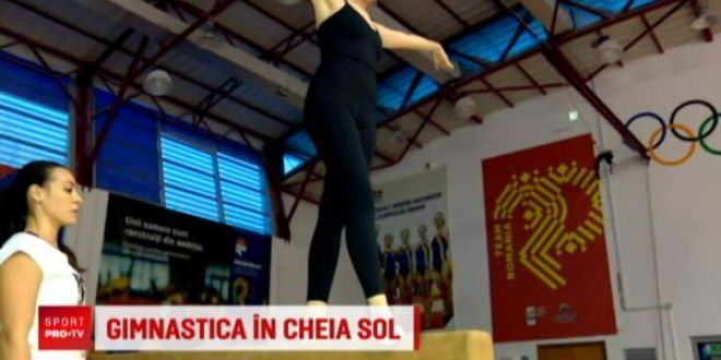 Lidia Buble s-a intors in sala de gimnastica dupa 7 ani! Catalina Ponor i-a fost profesoara