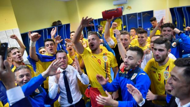 Romania U21, in urna a 4-a la tragerea la sorti pentru Euro 2019! Posibila grupa infernala cu Germania, Spania si Belgia! Cum arata urnele