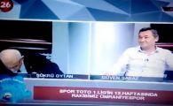A facut infarct live la TV! Scene socante la o televiziune de sport. VIDEO