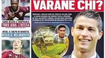 """""""Varane cine?"""" Ce poza a postat Ronaldo dupa ce a aflat ca nu e finalist pentru Balonul de Aur!"""