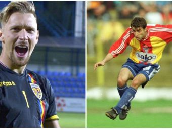 Duelul capitanilor U21: Lutu 1998 vs. Ionut Radu 2018.  Lutu nu ne tinea discursuri mobilizatoare in vestiar
