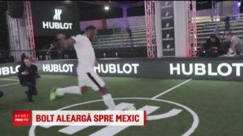 Bolt merge pana in Mexic doar ca sa devina fotbalist profesionist! Are oferta de la echipa lui Maradona
