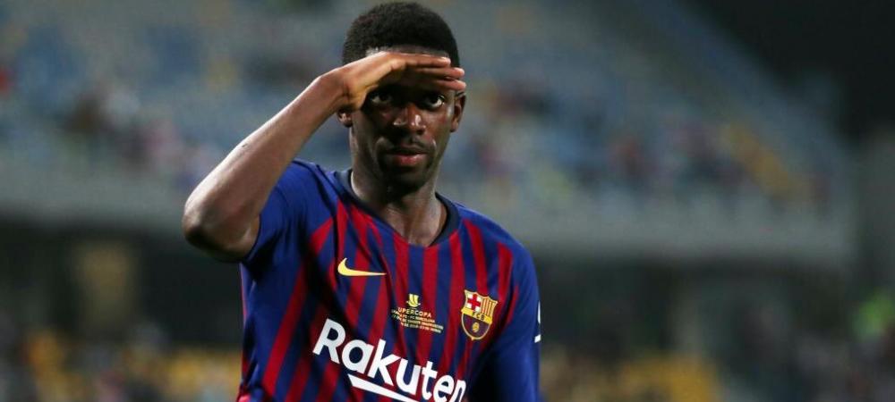 Barcelona trebuie sa PLATEASCA o suma uriasa daca-l vinde pe Dembele!!! Primul club care e gata sa-l ia