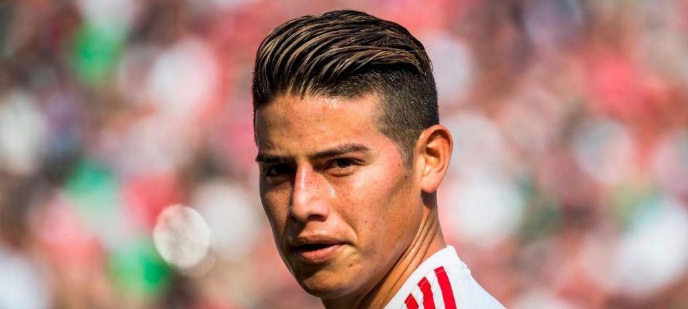 Disputat de Bayern si Real Madrid, James Rodriguez a luat decizia finala! Unde vrea sa joace