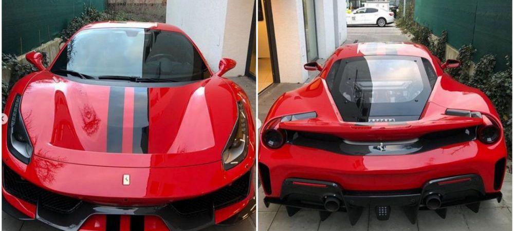 Jucatorul care si-a luat Ferrari de 350.000 euro pentru un drum de jumatate de kilometru! Colegii l-au luat imediat la misto: FOTO