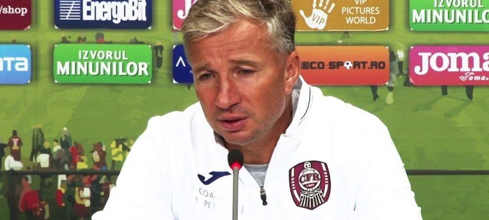 CFR Cluj, decizie FINALA in privinta revenirii lui Dan Petrescu! Ce veste a primit Toni Conceicao