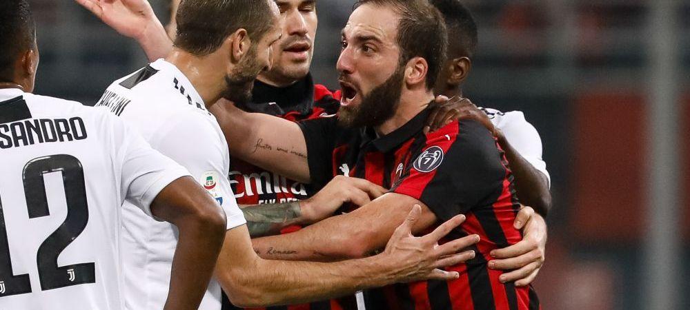 Italienii fac un anunt soc: Higuain se poate intoarce la Juventus, Milanul nu mai vrea sa plateasca suma convenita asta-vara