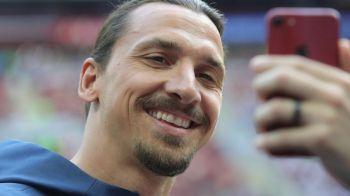 "FABULOS! Asta e singura poza pe care Zlatan are voie s-o atarne in propria casa: ""Sotia nu ma lasa sa am mai multe"" FOTO"
