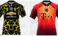 Surpriza totala pentru fani! Man United, Juventus, Real si Bayern SOCHEAZA cu noile echipamente! Singurul mod in care vor fi folosite