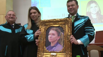 Simona Halep, numita DOCTOR HONORIUS CAUSA la Universitatea din Timisoara! Povestea EMOTIONANTA spusa de liderul WTA
