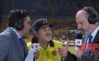 Maradona SOCHEAZA din nou! Moment penibil la un interviu: Jurnalistii au ramas fara replica