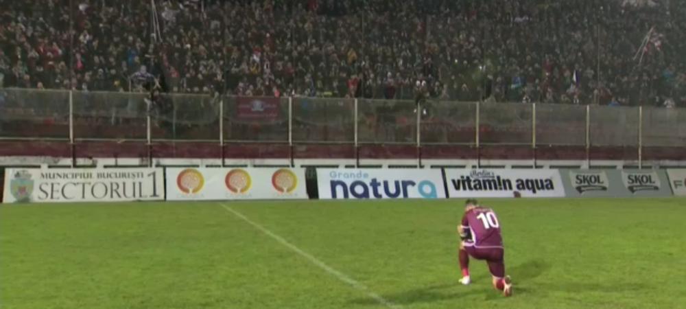 ADIO, GIULESTI! ULTIMUL MECI pe vechiul Rapid! Show TOTAL pe stadion: S-a stins nocturna, Pancu, IN GENUNCHI in fata fanilor!!! Imagini emotionante