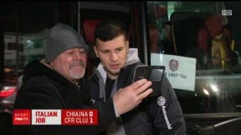 """""""Nu vii la Steaua?!"""" Ce raspuns a dat Tucudean dupa meciul CFR-ului"""