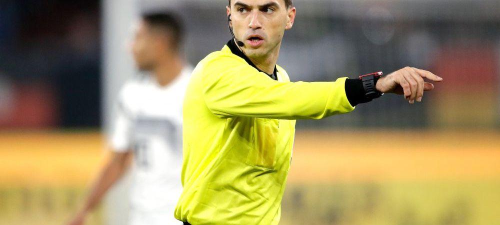 La o saptamana de la momentul cumplit al pierderii mamei, Hategan e trimis de UEFA la un nou meci din Champions League! Ce partida va arbitra