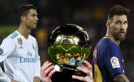 Francezii confirma: Messi si Ronaldo NU sunt finalisti pentru Balonul de Aur! SOC total in fotbal