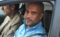 Guardiola are salariu de 18 milioane euro pe an, dar conduce o masina MODESTA! Antrenorul spaniol o imparte cu staff-ul sau. FOTO