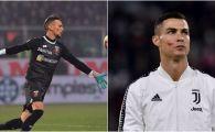 Motivul pentru care Ronaldo si Ionut Radu au jucat in weekend vopsiti pe fata! Ce reprezinta gestul fotbalistilor din Serie A