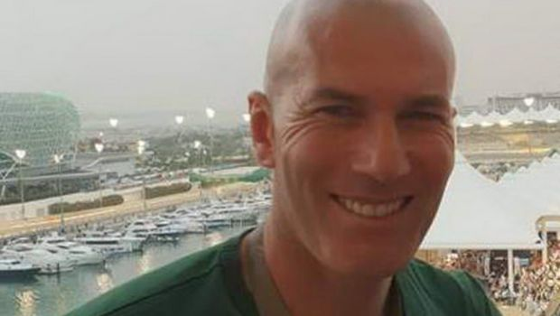 Politicianul roman care s-a pozat cu Zidane la Marele Premiu de la Abu Dhabi. Val de reactii pe net. FOTO