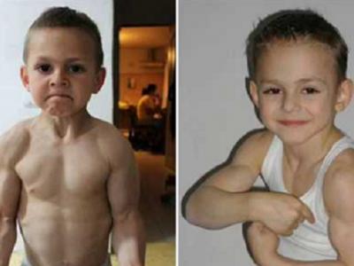 Ce a ajuns sa faca Micul Hercule la 14 ani! Giuliano Stroe, copilul roman care a facut inconjurul lumii: FOTO