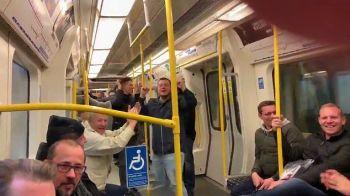 In urma cu 15 ani era rivalul lui Zlatan, acum merge cu METROUL! Aparitie de senzatie la Londra. VIDEO